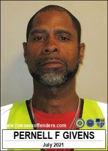 Pernell F Givens a registered Sex Offender of Iowa