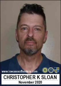 Christopher Kenneth Sloan a registered Sex Offender of Iowa