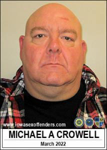 Michael Allen Crowell a registered Sex Offender of Iowa