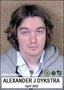 Alexander James Dykstra a registered Sex Offender of Iowa