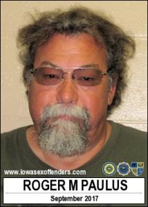 Roger Michael Paulus a registered Sex Offender of Iowa