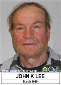 John Knudt Lee a registered Sex Offender of Iowa
