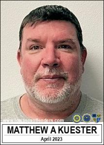 Matthew Alan Kuester a registered Sex Offender of Iowa