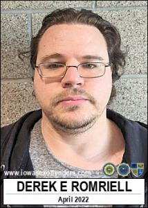 Derek Elliott Romriell a registered Sex Offender of Iowa