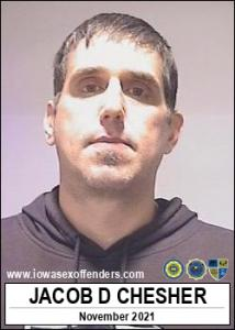 Jacob Daniel Chesher a registered Sex Offender of Iowa