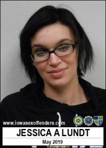 Jessica Ann Lundt a registered Sex Offender of Iowa
