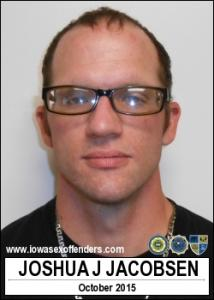 Joshua Jack Timothy Jacobsen a registered Sex Offender of Iowa