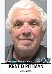 Kent Douglas Pittman a registered Sex Offender of Iowa