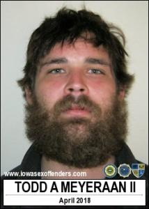 Todd Allen Meyeraan II a registered Sex Offender of Iowa