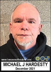 Michael Jeffrey Hardesty a registered Sex Offender of Iowa