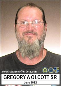 Gregory Allen Olcott Sr a registered Sex Offender of Iowa