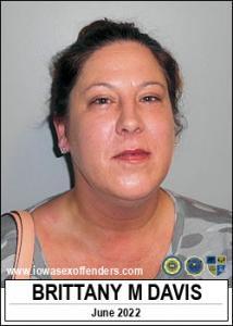 Brittany Marie Davis a registered Sex Offender of Iowa