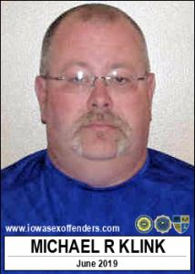 Michael Ray Klink a registered Sex Offender of Iowa
