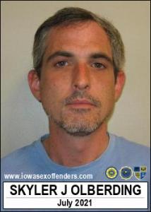 Skyler J Olberding a registered Sex Offender of Iowa