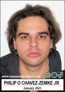 Philip Oliver Chavez-zemke Jr a registered Sex Offender of Iowa