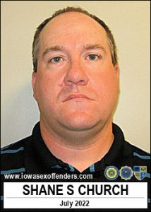 Shane Stirling Church a registered Sex Offender of Iowa