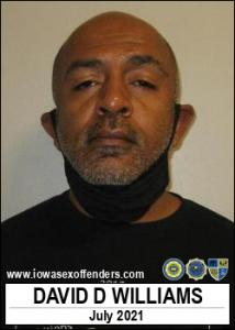David Douglas Williams a registered Sex Offender of Iowa