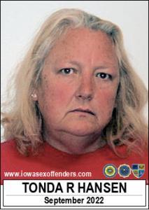 Tonda Rane Hansen a registered Sex Offender of Iowa