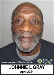 Johnnie Lee Gray a registered Sex Offender of Iowa