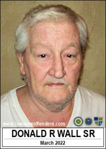 Donald Ray Wall Sr a registered Sex Offender of Iowa