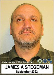 James Allen Stegeman a registered Sex Offender of Iowa