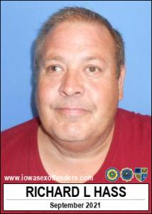 Richard Lee Hass a registered Sex Offender of Iowa