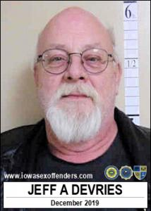 Jeff Allen Devries a registered Sex Offender of Iowa