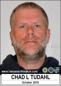 Chad Leigh Tudahl a registered Sex Offender of Iowa