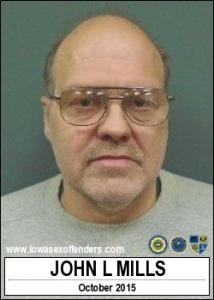 John Lee Mills a registered Sex Offender of Iowa