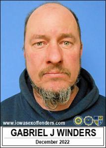 Gabriel Joseph Winders a registered Sex Offender of Iowa