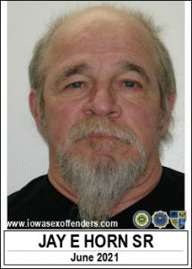 Jay Edward Horn Sr a registered Sex Offender of Iowa