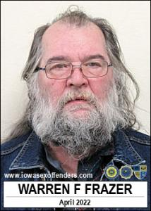 Warren Francis Frazer a registered Sex Offender of Iowa