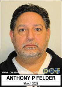 Anthony Patrick Felder a registered Sex Offender of Iowa