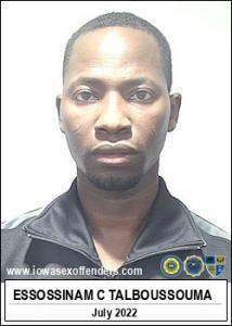Essossinam Cesar Talboussouma a registered Sex Offender of Iowa