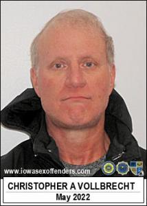 Christopher Alan Vollbrecht a registered Sex Offender of Iowa