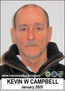 Kevin Wayne Campbell a registered Sex Offender of Iowa