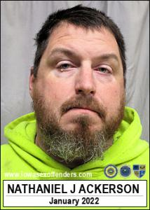 Nathaniel Jay Ackerson a registered Sex Offender of Iowa