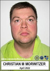 Christian Matthew Morwitzer a registered Sex Offender of Iowa