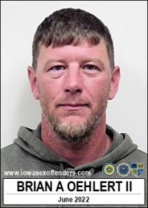 Brian Allen Oehlert II a registered Sex Offender of Iowa