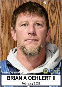 Brian Allen Oehlert II a registered Sex Offender of Iowa