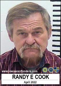 Randy Eugene Cook a registered Sex Offender of Iowa