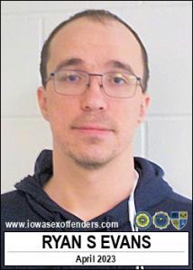 Ryan Scott Evans a registered Sex Offender of Iowa