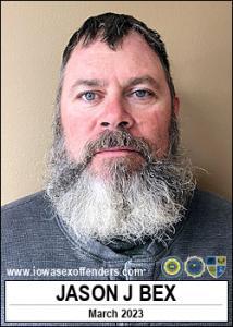 Jason John Bex a registered Sex Offender of Iowa