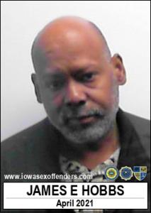 James Edward Hobbs a registered Sex Offender of Iowa
