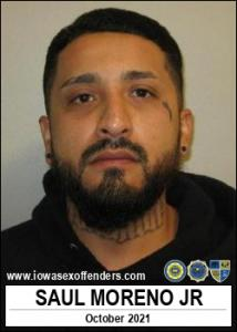 Saul Moreno Jr a registered Sex Offender of Iowa