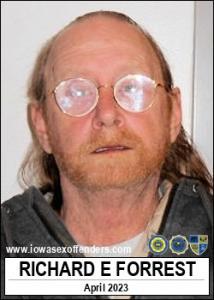 Richard Eugene Forrest a registered Sex Offender of Iowa
