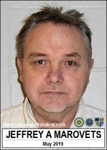 Jeffrey Allan Marovets a registered Sex Offender of Iowa