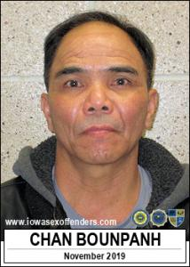 Chan Bounpanh a registered Sex Offender of Iowa