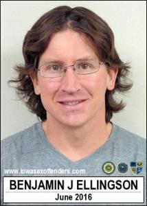 Benjamin Jeffrey Ellingson a registered Sex Offender of Iowa