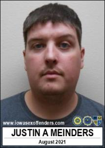 Justin Alan Meinders a registered Sex Offender of Iowa